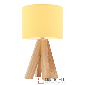 Darcy Table Lamp Yellow MEC