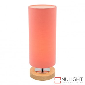 Brady Touch Table Lamp Peach MEC