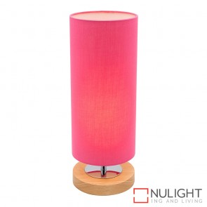 Brady Touch Table Lamp Pink MEC