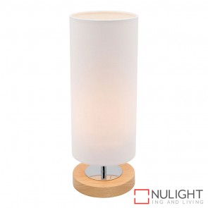 Brady Touch Table Lamp White MEC