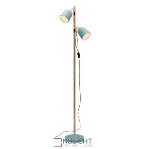 Cuba Floor Lamp Duck Egg MEC