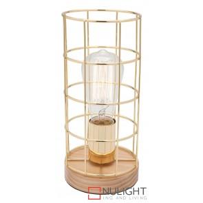 Harriet Table Lamp Timber MEC