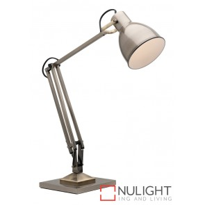 Ashton Task Lamp Antique Brass MEC
