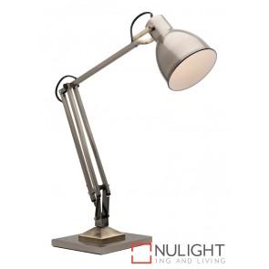 Ashton Task Lamp Antique Brass MEC