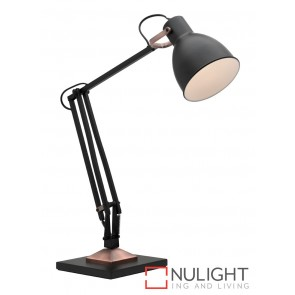 Ashton Task Lamp Black MEC