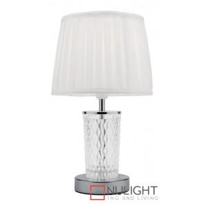 Taryn Table Lamp Brushed Chrome MEC
