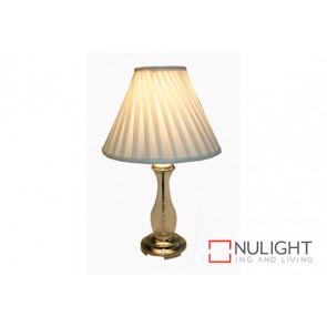Regina  Large Table Lamp Satin Chrome VAM
