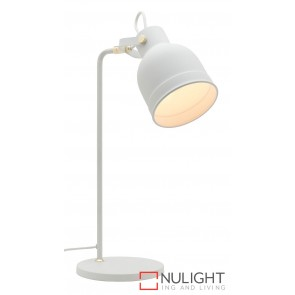 Elliot Table Lamp White MEC