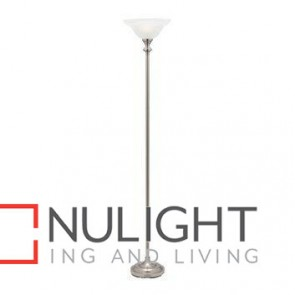 Logan floor lamp Brushed Chrome MEC