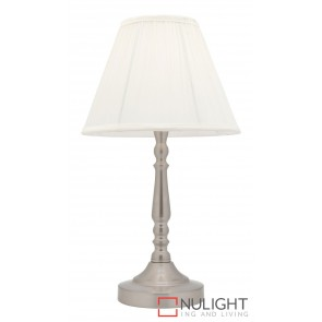 Molly Touch Table Lamp Brushed Chrome MEC