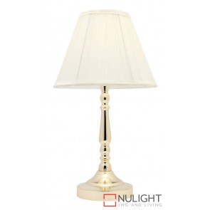 Molly Touch Table Lamp Polished Brass MEC