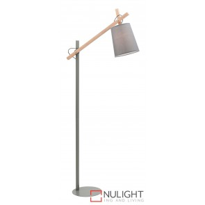 Kingston Floor Lamp Grey MEC