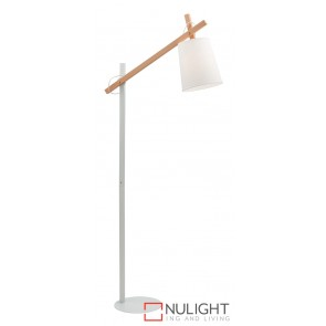 Kingston Floor Lamp White MEC