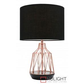 Gemma Table Lamp Black MEC