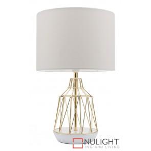 Gemma Table Lamp White MEC