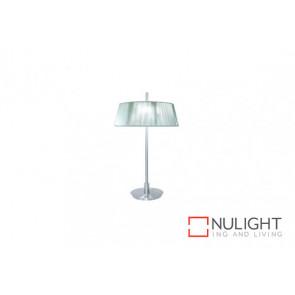 Paolo 2 Light Table Lamp Silv VAM