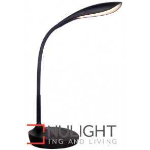 Lennox Led Task Lamp Matt Black MEC