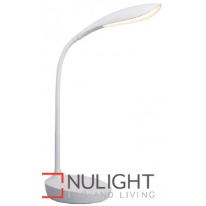 Lennox Led Task Lamp Matt White MEC