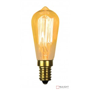 Vintage Filament St38 Lamp 25W E14 ORI
