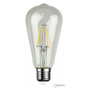 Led Filament Lamp St64 Clear 4W E27 2700K ORI