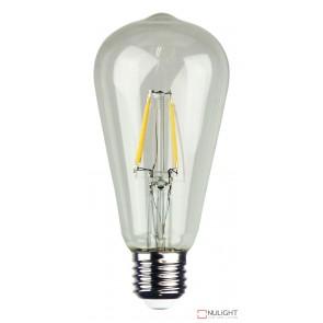 Led Filament Lamp St64 Clear 4W E27 2700K ORI