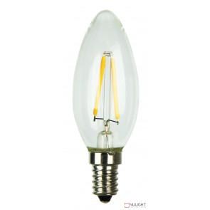 Led Filament Lamp C35 E14 2W 2700K Candle ORI