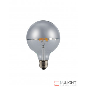 LED Crown Globe G95 6W E27 2700K Silver ORI