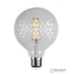 Led Filament Lamp Crystal Pattern E27 2W 2200K ORI