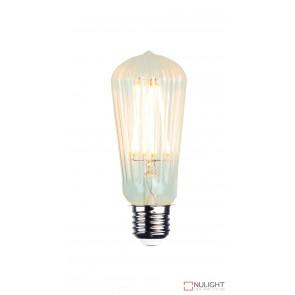 Led Filament Lamp St64 Ribbed 2W E27 2200K ORI