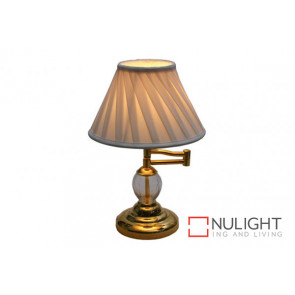 Swing Arm Crystal Table Lamp VAM