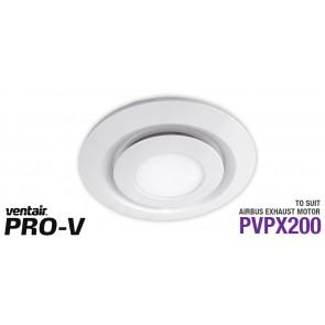 Airbus 200 White LED Fascia Round VTA