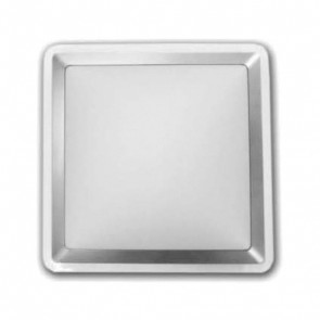 30 cm Square PC Cover Ceiling Oyster Light Ace Lighting