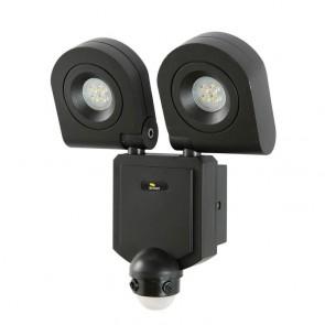 Arcolux 2 Light  LED 10W Floodlight with Sensor Brilliant Lighting