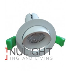 Downlight FITTING Centre Tiltable MATT White Round ARCHITECTURAL 70mm ADJ 30D CLA