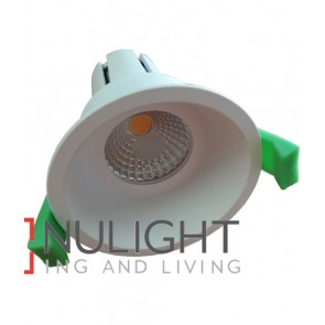 Downlight FITTING FIXED MATT White Round ARCHITECTURAL LOW GLARE 75mm CLA
