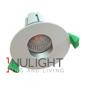 Downlight FITTING FIXED MATT White Round ARCHITECTURAL Elipse 70mm CLA