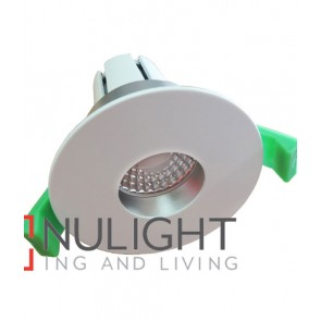 Downlight FITTING FIXED MATT White Round ARCHITECTURAL Circular 30D 70mm CLA