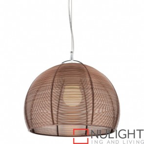Arden 1 Light Pendant Coffee COU