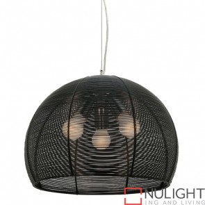 Arden 3 Light Pendant Black COU