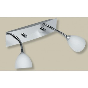 Flexible Double Spotlight in Chrome Artcraft Superlux