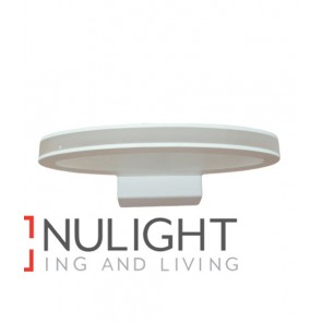 WALL INTERNAL Surface Mounted CITY LED MATT White OVAL 6W 120D 3000K IP23 (354 lumens) CLA