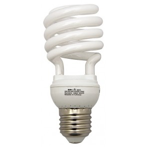 20W Compact Spiral Fluorescent Lamp Atom Lighting