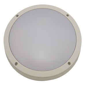 Small Round Milano Cast Bunker Light Atom Lighting