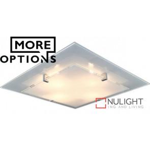 Vedro Plain Frost LED Oyster Light VAM