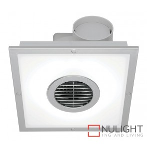 Skyline Led Square Exhaust Fan Silver MEC