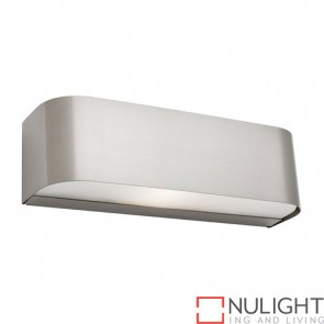 Benson 1 Light Wall Light Satin Chrome COU