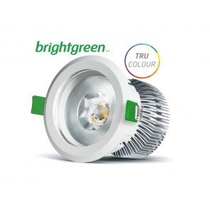 D900+ 16W LED Downlight BrightGreen