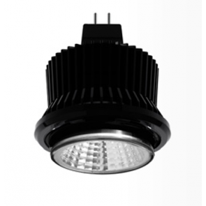 DR450 LED downlight BrightGreen
