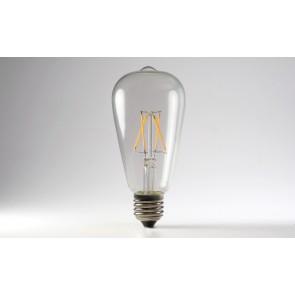 Loomi LED 2W Edison Filament 2700K Globe BrightGreen