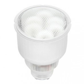13W GU10 Compact Fluorescent Globe Brilliant Lighting